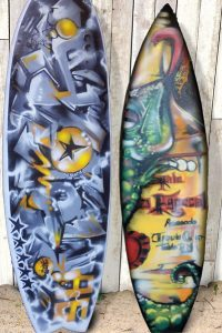 Surfs Up – Customized Painted Surf Boards