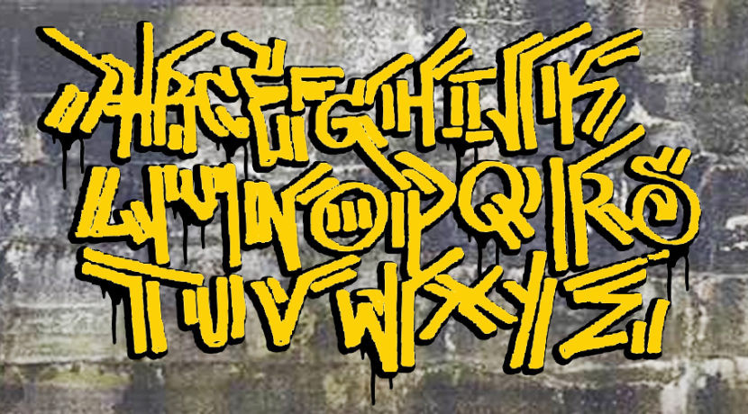 Graffiti Alphabet Urban Gypset